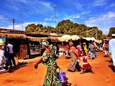 Serrekunda Market, The Gambia