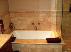 How To Install Cool Bathtub, install a bathtub yourself, install a bathtub drain and overflow ~ Home Design Travertine Bathroom, Bathtub, Travertine Tile Bathroom, Small Bathroom, Bathroom Pictures, Bathtub Drain, Bathroom Redo, Bathrooms Remodel, Subway Tile Design