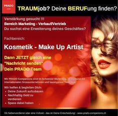 Mitarbeiter gesucht! www.prado-Companions.ch