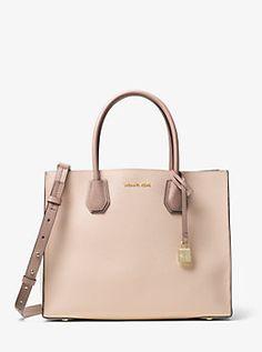 ba7c9836caae Mercer Large Leather Tote Michael Kors Crossbody Bag