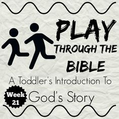 Through The Bible 25 weeks of basic Bible Stories geared for toddlers. Full of activity and craft weeks of basic Bible Stories geared for toddlers. Full of activity and craft ideas Toddler Sunday School, Sunday School Activities, Sunday School Lessons, Sunday School Crafts, Toddler Age, Toddler Bible Lessons, Preschool Bible Lessons, Toddler Bible Crafts, Toddler Church Crafts