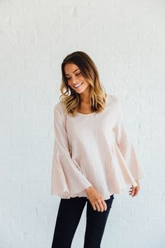 Santa Cruz Top in Dusty Pink