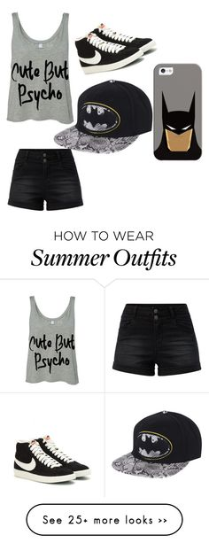 """""""Untitled #213"""" by lydiaubblegum on Polyvore featuring mode, NIKE et Casetify"""