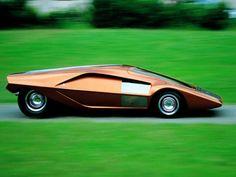 "fabforgottennobility: "" Bertone Stratos HF """