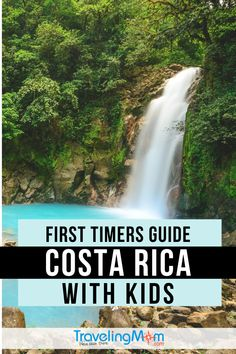 travel idea for kids Costa Rica is exotic but accessible for families with access to beaches, volcanoes, rainforests and sloths! This first timers guide will help you decide on activities that are best for travel with kids.