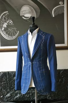 Handmade by Manolo Costa New York - great cut on that jacket