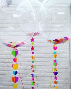 Burbujas de color ⭐️⭐️⭐️⭐️#balloons #estoyinglob #colores #burbuja #globos