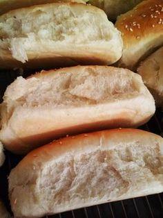 ψωμακια2 Cookbook Recipes, Cooking Recipes, Healthy Recipes, The Kitchen Food Network, Bread Art, Kitchen Stories, Hot Dog Buns, Food Network Recipes, Finger Foods