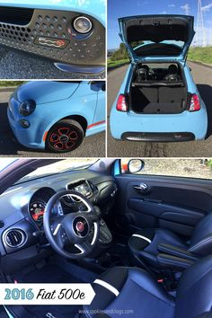 Cars | The 2016 Fiat 500e is an adorable but sporty electric vehicle. It's peppy and can go about 85 miles one charge. It does, however, feel quite flimsy. See what I mean here.