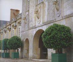 Hubert Givenchy's chateau du Jonchet, Eure et Loir...