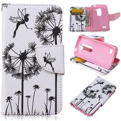 LG Leon Case,LG Tribute 2 Case,DIOS CASE(TM) Magnet Clasp Flap Closure PU Synthetic Leather Stand Folio Flip with Card Slot Wallet Shell Cover for LG Leon C40/Tribute 2/LG H340 (Dandelion) *** This is an Amazon Affiliate link. Continue to the product at the image link.