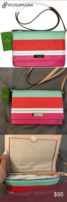 NWT Kate Spade Sally Grant Crossbody New with tags. Perfect bag for spring or summer. No trades or low balling. kate spade Bags Crossbody Bags