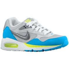 Nike Air Max Sunrise - Women's - Sport Inspired - Shoes - Wolf Grey/Blue Glow/Ultra Grey/Cool Grey