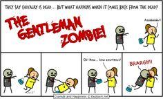 The Gentleman Zombie - poztag.com