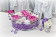 Centrotavola e addobbi floreali per ricevimenti di matrimonio | WEDDING BOOK La Piccola Selva
