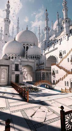 Fantasy Mosque by gurmukh bhasin
