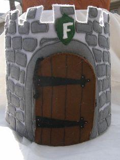 Wool Felt Castle.