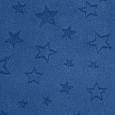 minky embossed stars