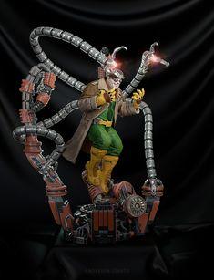 ArtStation - Doctor Octopus, Anderson Lovato Octopus, Marvel, Cosplay, Halloween, Classic, Artwork, Character, Comics, Derby