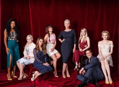 The Scream Queens cast for US Weekly