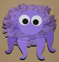 Octopus Tissue Paper Animal