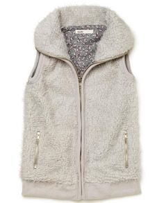 Sudo Fur Vest in Grey  Only $31.47 on #Mumgo!