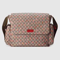 bd30bc69615b K0EQ3 Gucci Guccissima Faux-Leather Diaper Bag w/ Changing Pad | If ...