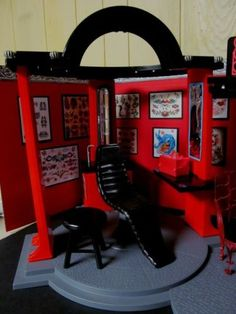 1000 Images About Barbie Dollshouse And Diorama On Pinterest Barbie Furniture Dioramas And