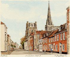 Chichester - West St - Portraits of Britain