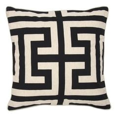 Browse Boston Interiors pillows for your favorite accessories and gifts: accent pillows and decorative throw pillows for your couch or bed. Shop now. Modern Throw Pillows, Decorative Throw Pillows, Floor Pillows, Accent Pillows, Boston Interiors, Black Cushions, Burke Decor, Designer Pillow, White Patterns