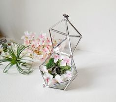 Glass Terrarium ring box. So in love!                                                                                                                                                                                 More