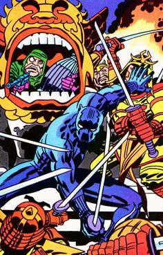 Black Panther #6 - Jack Kirby
