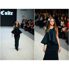 """""""Neoprene top and skirt by Coo Culte #CooCulteShow #BFW"""""""