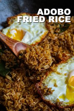 This is one of my Fried Rice Recipe series and if you want to know more of these easy fried rice recipes Filipino Recipes, Asian Recipes, Ethnic Recipes, Fried Rice Recipe Video, Filipino Fried Rice Recipe, Healthy Beef Recipes, Cooking Recipes, Phillipino Food, Seonkyoung Longest