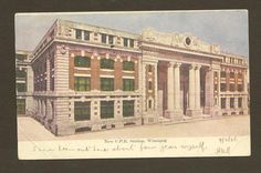 New CPR Train Station Winnipeg 1906 Vintage Postcard by TheOldBarnDoor, $3.50 Niles Ohio, Genealogy Websites, Old Barn Doors, Train Stations, Continents, Old Things, Around The Worlds, Canada, History