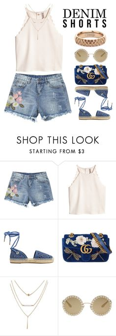 """""""Untitled #387"""" by totalfashiongirl ❤ liked on Polyvore featuring MICHAEL Michael Kors, Gucci, Dolce&Gabbana and Vitaly"""