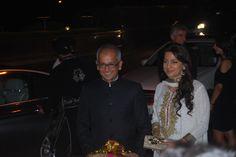 Juhi Chawla along with her husband