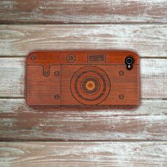 iWood Camera Case Dark now featured on Fab.