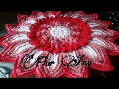 👉🏻💗Mega Flor Any💕🌿(parte 1) - YouTube Crochet Mandala Pattern, Doily Patterns, Crochet Doilies, Crochet Flowers, Crochet Purses, Needlework, Diy And Crafts, Projects To Try, Make It Yourself
