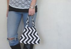 chevron handbag. design your own small purse 10 by SmiLeStyles #purse #chevron #designyourown #fashion