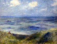 Pierre Auguste Renoir - Blick aufs Meer Guernsey, 1880 at Kunsthaus Zürich - Zurich Switzerland | Flickr - Photo Sharing!