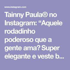 """Tainny Paula® no Instagram: """"Aquele rodadinho poderoso que a gente ama❤ Super elegante e veste bem demais! Maravilhoso, né? . 💖 para maiores informações me add no…"""" Instagram, How To Dress Cool, Dresses, Chic, Jacket"""