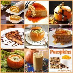 PUMPKIN frenzy - hundreds of #pumpkin #recipes on RecipeNewZ   http://recipenewz.com/search-results/~search-word-like-pumpkin~sort-by-popularity/