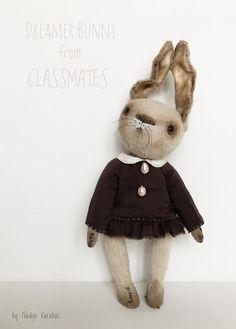 cute bunny dreamer by nadya karabas