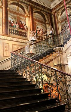 The King's Grand Staircase: Kensington Palace by curry15, via Flickr