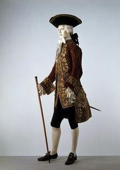 Court suit, ca. 1765-1770, France.