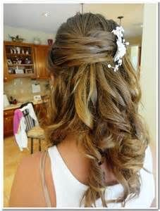 Mother Of The Bride Hairstyles Half Up