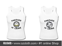 Partner In Crime Tank Top Couple