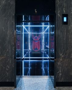 Neon is present all around us, it reminds us of the modern and exciting urban landscape and can also appear nostalgic and old-school at the same time. This is what makes the blinged out 2.5-metre glowing beetle on the back of the elevator wall the perfect centrepiece for W-Hotels new luxury hotel in Brisbane.