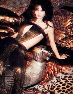 Vogue Japan June 2014   Katlin Aas by Katja Rahlwes